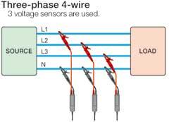 Three-phase 4-wire