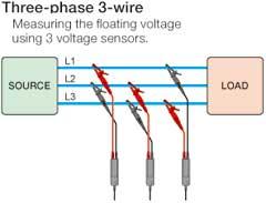 Three-phase 3-wire