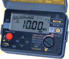 Kew 3021 絶縁抵抗計 製品情報 共立電気計器株式会社