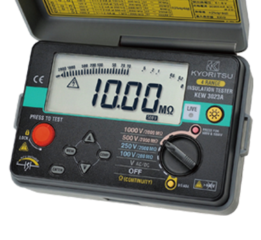 Kew 3023a|digital Insulation Continuity Testers|products